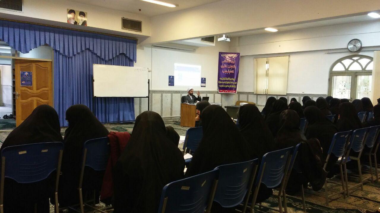 سیزدهمین پیش نشست همایش در حوزه علمیه فاطمیه کرمان برگزار شد.47