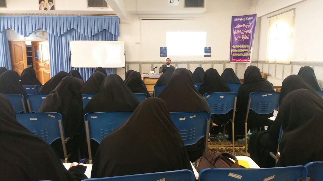 چهارمین و پنجمین کارگاه مقاله نویسی در مدرسه علمیه فاطمیه (س)شهر کرمان برگزار شد.48
